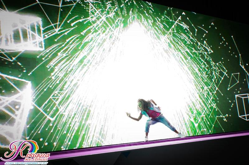 3Д лазерное шоу
