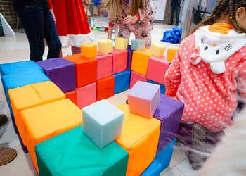 мягкие кубики для детей